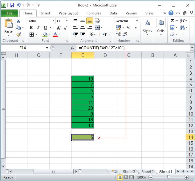 معرفی توابع ریاضی در Excel