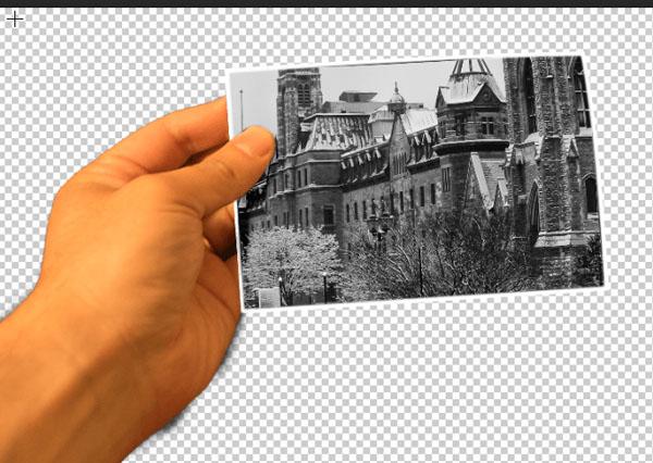 آموزش ساخت یک عکس ترکیبی جالب از گذشته در مقابل حال