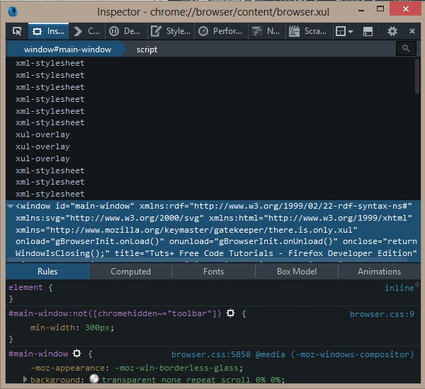 استفاده از مرورگر فایرفاکس نسخه توسعه دهندگان وب