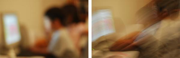 چرا عکسهایی که از سوژه های متحرک می گیرم مات یا تار می شوند؟