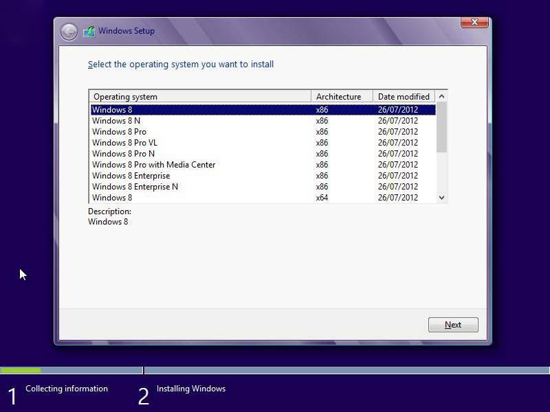 آموزش تصویری نصب ویندوز8