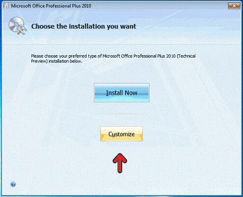 روش نصب Office 2010